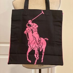 Polo Tote Bag - Pink for Cancer Awareness